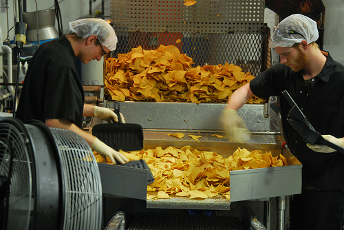 Seasoning the chips